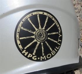 "HPG Mobility 3"" Sticker"