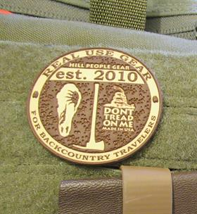 HPG medallion vinyl patch