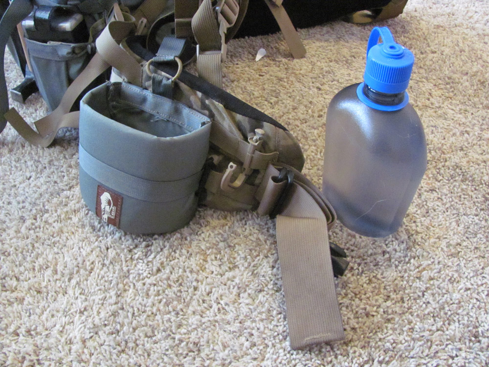 Details about  /Hill People Gear Canteen Bottle Holster with extra clips